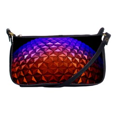 Abstract Ball Colorful Colors Shoulder Clutch Bags