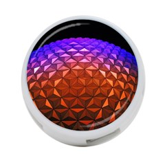 Abstract Ball Colorful Colors 4 Port Usb Hub (two Sides)