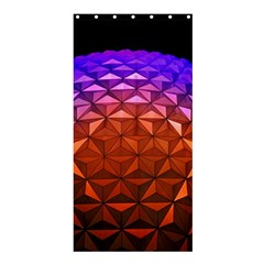 Abstract Ball Colorful Colors Shower Curtain 36  X 72  (stall)