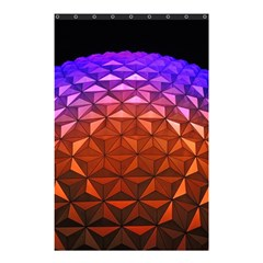Abstract Ball Colorful Colors Shower Curtain 48  X 72  (small)