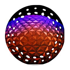Abstract Ball Colorful Colors Ornament (round Filigree)