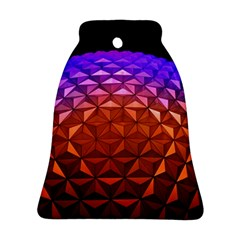 Abstract Ball Colorful Colors Ornament (bell)