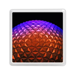 Abstract Ball Colorful Colors Memory Card Reader (square)