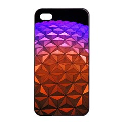 Abstract Ball Colorful Colors Apple Iphone 4/4s Seamless Case (black)