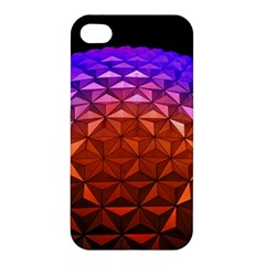 Abstract Ball Colorful Colors Apple Iphone 4/4s Hardshell Case