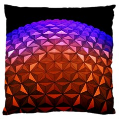 Abstract Ball Colorful Colors Large Cushion Case (two Sides)