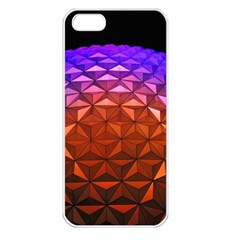 Abstract Ball Colorful Colors Apple Iphone 5 Seamless Case (white)