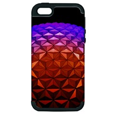 Abstract Ball Colorful Colors Apple Iphone 5 Hardshell Case (pc+silicone)