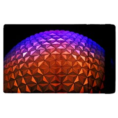 Abstract Ball Colorful Colors Apple Ipad 2 Flip Case