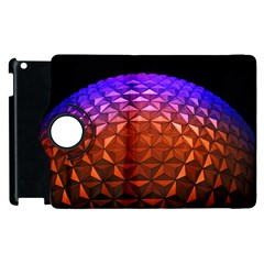 Abstract Ball Colorful Colors Apple Ipad 2 Flip 360 Case