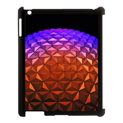 Abstract Ball Colorful Colors Apple Ipad 3/4 Case (black)