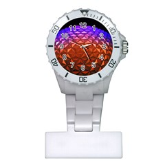 Abstract Ball Colorful Colors Plastic Nurses Watch