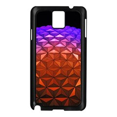 Abstract Ball Colorful Colors Samsung Galaxy Note 3 N9005 Case (black)