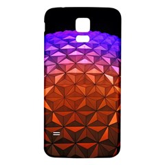 Abstract Ball Colorful Colors Samsung Galaxy S5 Back Case (white)