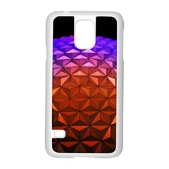 Abstract Ball Colorful Colors Samsung Galaxy S5 Case (white)