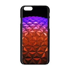 Abstract Ball Colorful Colors Apple Iphone 6/6s Black Enamel Case