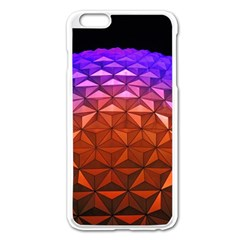Abstract Ball Colorful Colors Apple iPhone 6 Plus/6S Plus Enamel White Case