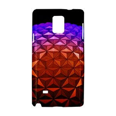 Abstract Ball Colorful Colors Samsung Galaxy Note 4 Hardshell Case