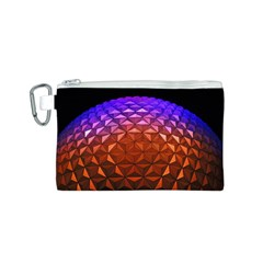 Abstract Ball Colorful Colors Canvas Cosmetic Bag (s)