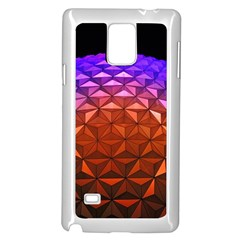 Abstract Ball Colorful Colors Samsung Galaxy Note 4 Case (white)