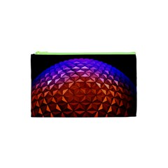 Abstract Ball Colorful Colors Cosmetic Bag (xs)