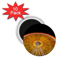 Abstract Blur Bright Circular 1 75  Magnets (10 Pack)