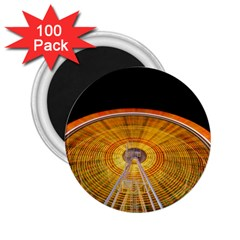 Abstract Blur Bright Circular 2.25  Magnets (100 pack)