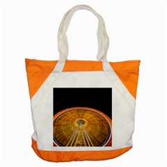 Abstract Blur Bright Circular Accent Tote Bag