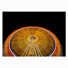 Abstract Blur Bright Circular Large Glasses Cloth
