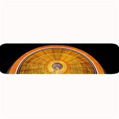 Abstract Blur Bright Circular Large Bar Mats