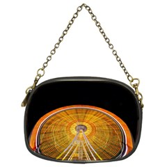 Abstract Blur Bright Circular Chain Purses (two Sides)