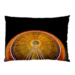 Abstract Blur Bright Circular Pillow Case