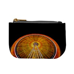 Abstract Blur Bright Circular Mini Coin Purses