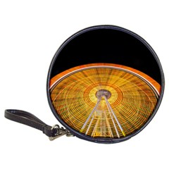 Abstract Blur Bright Circular Classic 20 Cd Wallets