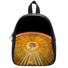 Abstract Blur Bright Circular School Bags (small)