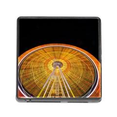 Abstract Blur Bright Circular Memory Card Reader (square)