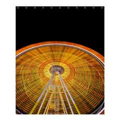 Abstract Blur Bright Circular Shower Curtain 60  X 72  (medium)