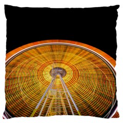 Abstract Blur Bright Circular Large Cushion Case (two Sides)