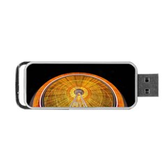 Abstract Blur Bright Circular Portable Usb Flash (two Sides)