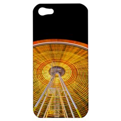 Abstract Blur Bright Circular Apple Iphone 5 Hardshell Case