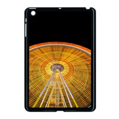 Abstract Blur Bright Circular Apple Ipad Mini Case (black)