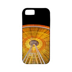 Abstract Blur Bright Circular Apple Iphone 5 Classic Hardshell Case (pc+silicone)
