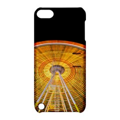 Abstract Blur Bright Circular Apple Ipod Touch 5 Hardshell Case With Stand
