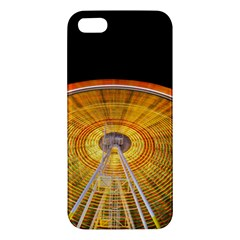 Abstract Blur Bright Circular Apple Iphone 5 Premium Hardshell Case