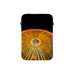 Abstract Blur Bright Circular Apple Ipad Mini Protective Soft Cases