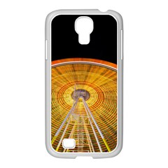Abstract Blur Bright Circular Samsung Galaxy S4 I9500/ I9505 Case (white)