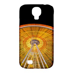 Abstract Blur Bright Circular Samsung Galaxy S4 Classic Hardshell Case (pc+silicone)