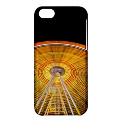 Abstract Blur Bright Circular Apple Iphone 5c Hardshell Case