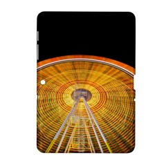 Abstract Blur Bright Circular Samsung Galaxy Tab 2 (10 1 ) P5100 Hardshell Case