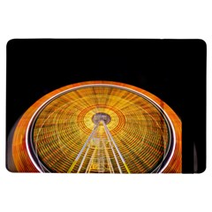 Abstract Blur Bright Circular Ipad Air Flip